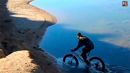 Probando una Fat Bike