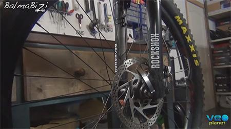 Cuando el disco de tu bicicleta suena...