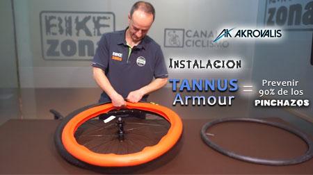 Instalamos el  Tannus Armour para evitar el 90% de los pinchazos