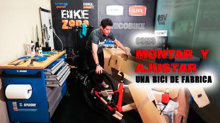 Montar una bici nueva según viene de fábrica en caja