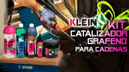 Catalizar la cadena en 3 pasos con el Kit catalizador grafeno de KLEIN
