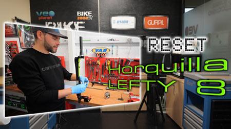 Reset y puesta a punto de la horquilla Lefty 8