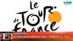 BikeNews 25/06/2015-La policia holandesa hace temblar al Tour de Francia
