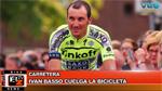BikeNews 06/10/2015 - Ivan Basso cuelga la bicicleta