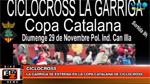 BikeNews 27/11/2015 - La Garriga se estrena en la Copa Catalana de Ciclocross