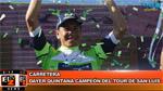 BikeNews 25/01/2016 - Dayer Quintana campeón del Tour de San Luis