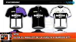 BikeNews 28/01/2016 - Elige el maillot de la Vuelta a Burgos BTT