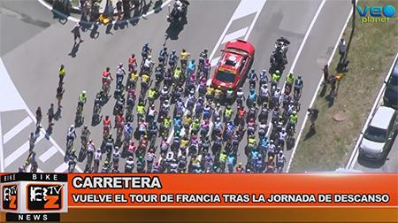 BikeNews 12/07/2016 - Vuelve el Tour de Francia tras la jornada de descanso