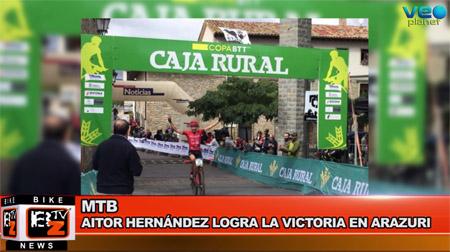 BikeNews 20/09/2016 - Aitor Hernández logra la victoria en Arazuri