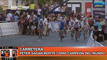BikeNews 17/10/2016 - Peter Sagan repite como campeón del mundo
