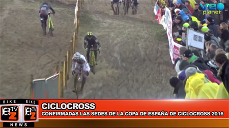 BikeNews 19/10/2016 - Confirmadas las sedes de la Copa de España de ciclocross 2016