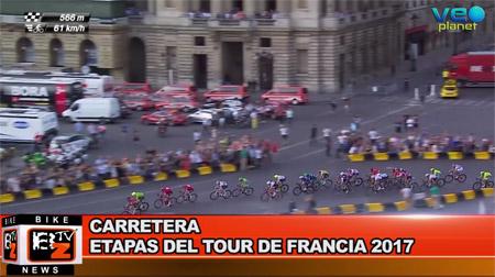 BikeNews 20/10/2016 - Etapas del Tour de Francia 2017