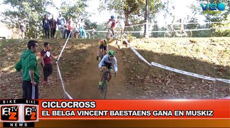 BikeNews 02/11/2016 - El belga Vincent Baestaens, ganador del IX Trofeo Ayuntamiento de Muskiz