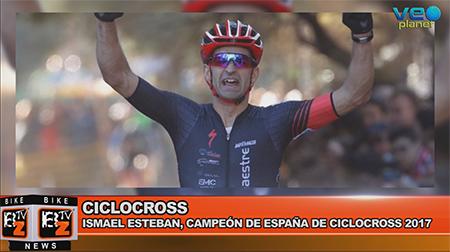 BikeNews 09/01/2017 - Ismael Esteban, campeón de España de ciclocross 2017