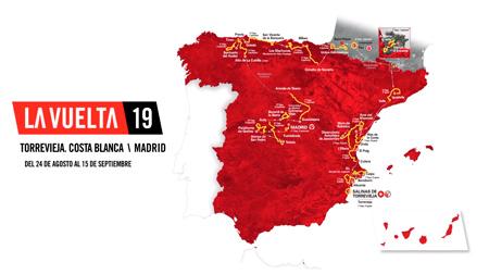 Desgranando la Vuelta a España 2019