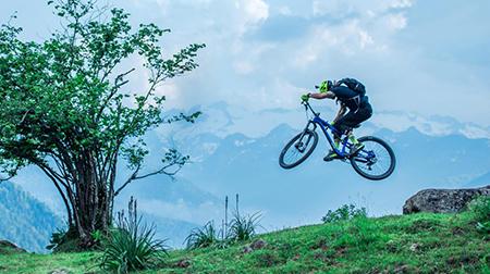 David Cachon en los Pirineos de Cataluña