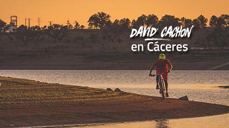 David Cachon en Cáceres: un destino, mil rodadas