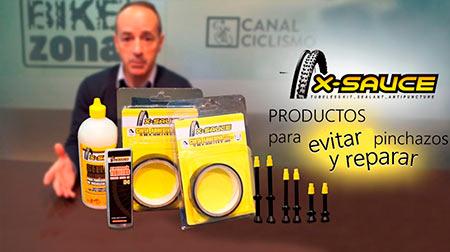 Productos para evitar y reparar pinchazos X-Sauce