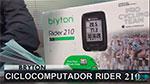 Análisis Bryton Rider 210