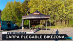 Carpa plegable Protegebike