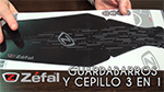 Guardabarros Shield Lite XL y cepillo 3 en 1 ZB Clean de Zéfal