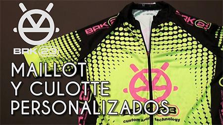Pack de maillot y culotte personalizados de BRK23
