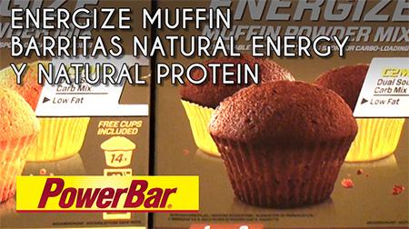 Energize Muffin y nuevas barritas POWERBAR