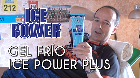 Recuperación instantánea con el gel Ice Power Plus
