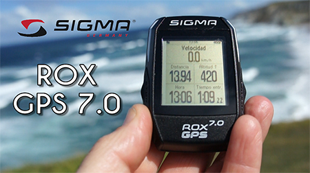 La nueva generación: ROX GPS 7.0 de SIGMA