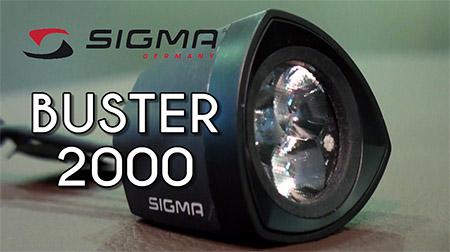 La noche se hace día con el BUSTER 2000 de SIGMA