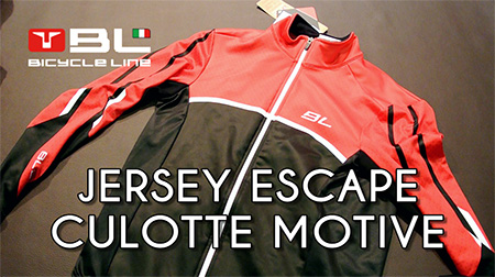 Jersey ESCAPE y culotte MOTIVE de Bicycle Line