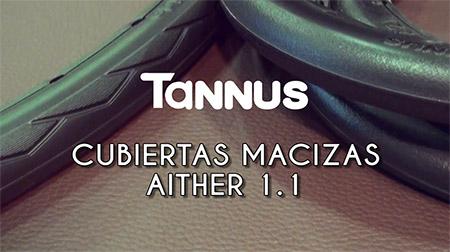 No más pinchazos con las cubiertas macizas Tannus Aither 1.1