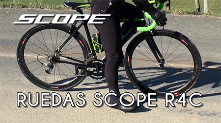 Siéntete como un profesional con las ruedas Scope R4c