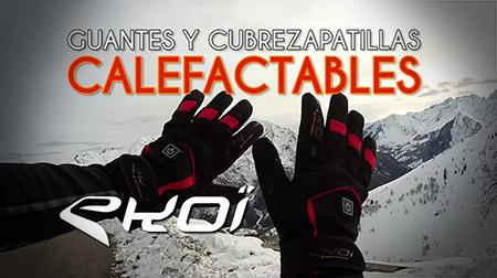 No más frío en manos ni pies con los guantes y cubrezapatillas calefactables Ekoï