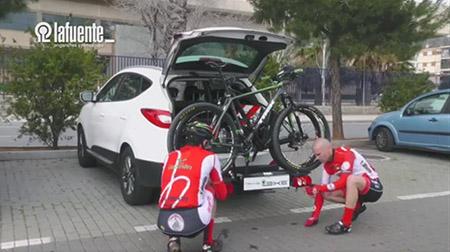 Portabicicletas para 2, 3 y 4 bicis de TransBike Lafuente