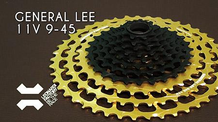 Descubre el mejorado cassette General Lee 11v 9-45 de Leonardi