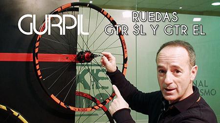 Ruedas de MTB GTR SL y EL de GURPIL