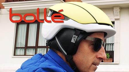 Casco Messenger Premium y gafas Adelaide de Bollé