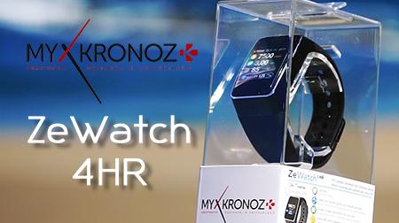 Infinitas prestaciones en tu muñeca con el ZeWatch 4 HR de MyKronoz