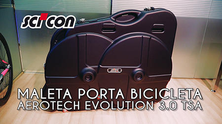 Maleta portabicicletas Scicon AeroTech Evolution 3.0