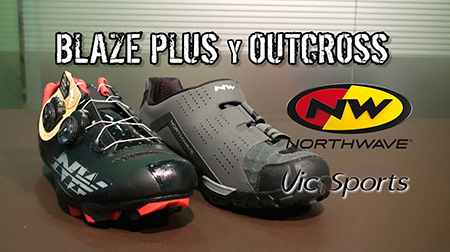 Zapatillas BLAZE PLUS y OUTCROSS de Northwave