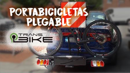 Transporta hasta 4 bicis con el portabicicletas plegable de Transbike