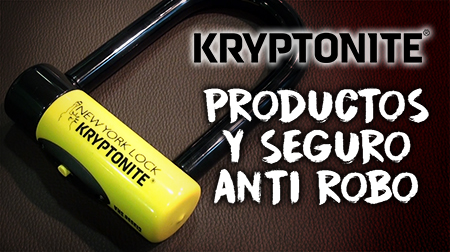 Productos y seguro anti robo de Kryptonite