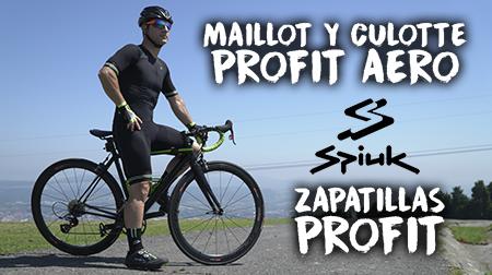 Maillot y culotte PROFIT Aero y zapatillas PROFIT de SPIUK