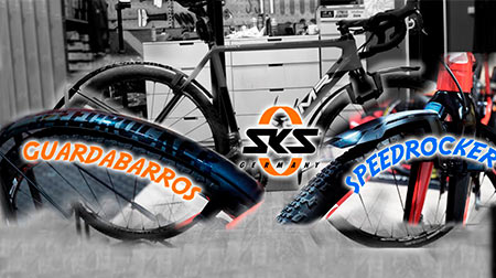 Speedrocker de SKS, guardabarros especial para Gravel