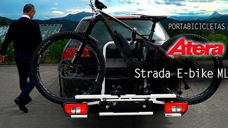 Portabicletas para bola de remolque ATERA Strada E-bike ML