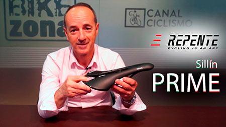 Sillín REPENTE Prime, diseño, ergonomía y ligereza
