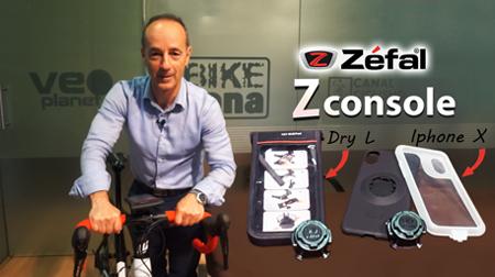 Tu smartphone seguro encima de la bici con ZÉFAL Z Console