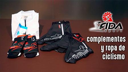 Complementos y ropa de ciclismo Sfida