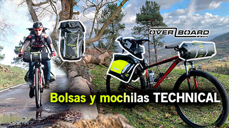 Bolsas y mochilas técnicas 100% impermeables OverBoard